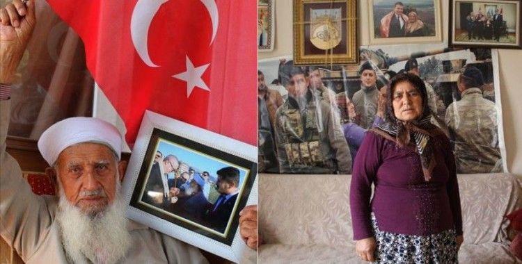 'Yörük Ana' ve 'Muhammed Dede'den harekata destek