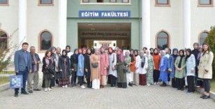 DPÜ misafir öğrencileri ağırlamaya devam ediyor