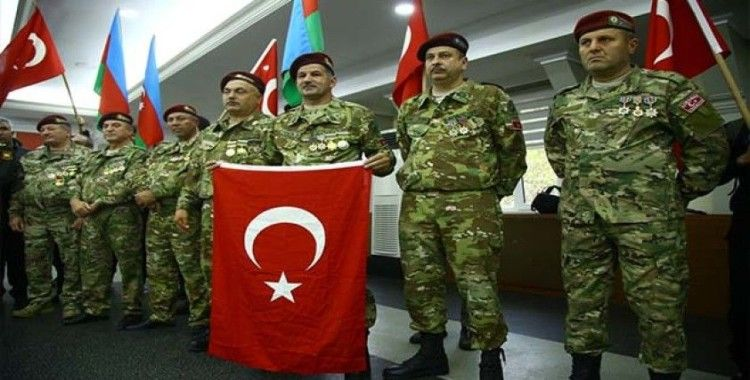 Azerbaycan sivil toplum kuruluşları ve gazilerinden Barış Pınarı Harekatı'na destek