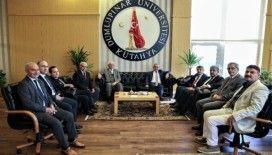 Başkan Işık'tan Rektör Uysal'a iade-i ziyaret