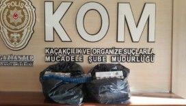Gaziantep'te 520 paket kaçak sigara ele geçirildi