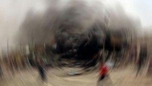 Bağdat'ta mühimmat deposunda patlama