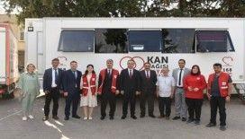 Rekor Kan bağışına Vali Soytürk'ten ziyaret