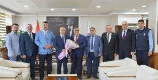 Türk Yerel Hizmet-Sen'den Başkan Kayda'ya ziyaret
