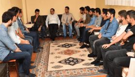Başkan Demir, öğrencilere menemen yaptı