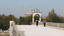 Meriç Köprüsü yol zemini restorasyonu tamamlandı