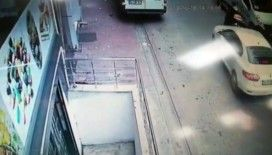 Kavga ettiği motosikletli genci ara sokakta sıkıştırıp kaza yaptırdı