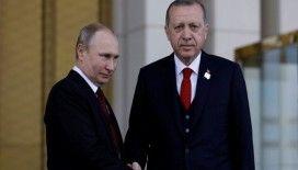 Cumhurbaşkanı Erdoğan Putin'le telefonda görüştü