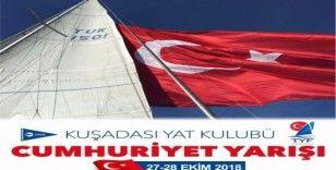 Cumhuriyet Kupası Yelkenli Yat Yarışı 26 Ekim'de Kuşadası'nda başlıyor