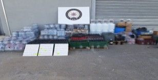 Polis 2 bin 989 şişe sahte alkol ele geçirdi