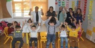 Elazığ'da öğrencilere el yıkamanın önemi anlatıldı