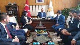 Bülent Turan TBMM'de AK Parti İl Genel Meclisi üyelerini misafir etti
