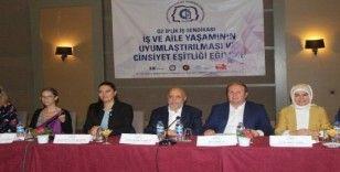 Hak İş Başkanı Arslan ve kadınlardan Mehmetçik'e asker selamı