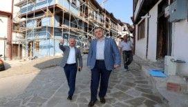 Vali Varol ile Milletvekili Çilez'den Sofular Mahallesi'ndeki çalışmalara inceleme