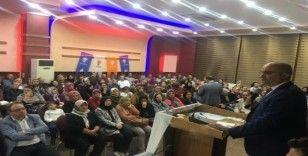 AK Parti'den coşkulu toplantı