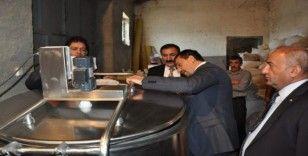 Başkan Süer, 'Soğuk Zincir Süt Kurulumu' projesini yerinde inceledi