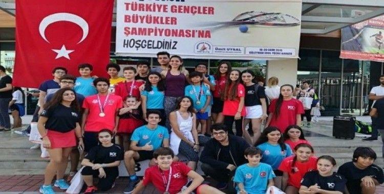 Muratpaşa'dan squash şampiyonluğu