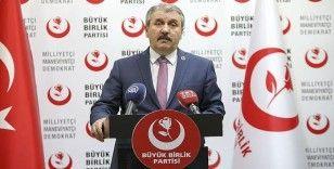 """BBP Genel Başkanı Destici'den """"Barış Pınarı Harekâtı"""" açıklaması"""