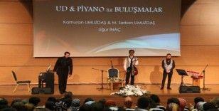 NEVÜ'de Ud ve Piyano konseri düzenlendi