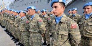 Lübnan'da bulunan Türk askerinin görev süresi uzatıldı