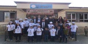 Köy okulunda bilim fuarı düzenlendi