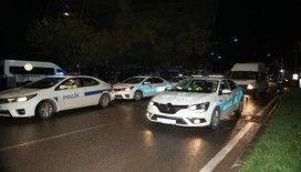 Gaziantep polisinden 1078 personel ve 81 ekip ile dev operasyon