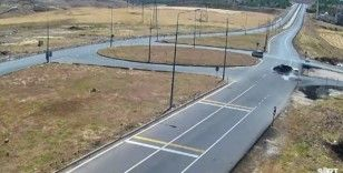 Siirt'te trafik kazası mobeseye yansıdı