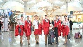 AtlasGlobal Hava Yolları, yeni kabin üniformasıyla ilk uçuşunu gerçekleştirdi