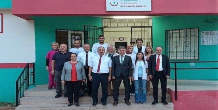 Halk Sağlığı Genel Müdür Yardımcısı Çömçe Mersin'de