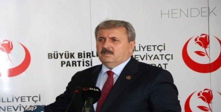 BBP Genel Başkanı Destici belediye başkanları toplantısına katıldı
