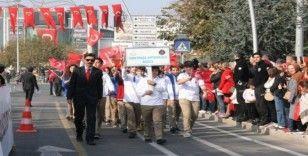 Düzce'de 29 Ekim Cumhuriyet Bayramı coşku ile kutlandı