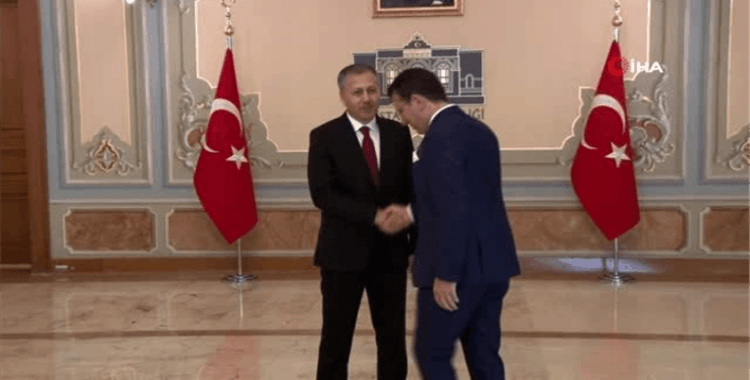 İstanbul Valiliği'nde Cumhuriyet Bayramı kutlaması