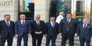 AK Partili başkanlar değerlendirme toplantısında bir araya geldi