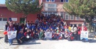 DPÜ Damla Topluluğu'ndan Gökçeler İlk ve Ortaokulu'na ziyaret
