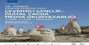 'AB-Türkiye Gençlik Forumu 2019' Adıyaman'da düzenlenecek