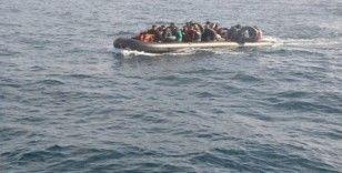 Edirne açıklarında 40 düzensiz göçmen yakalandı