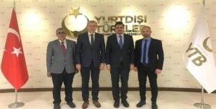 ÇOMÜ ile YTB arasında proje toplantısı gerçekleştirildi