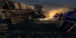 Ağrı'da feci kaza: 1 ölü