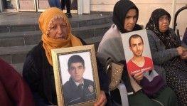 HDP önündeki ailelerin evlat nöbeti 59'uncu gününde