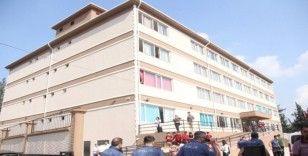 Okulda pencereden düşen öğrenci yaralandı