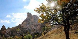 Kapadokya sonbahar renkleriyle cezbediyor