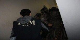 Ceyhan'da terör örgütü propagandası yapan 5 kişi gözaltına alındı