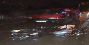 Sakarya'da motosiklet kazası: 1 ölü