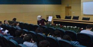 SAÜ'de 'Özgeçmiş atölyesi' adlı etkinlik düzenlendi