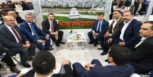 Karaköprü standına Ankara'da yoğun ilgi