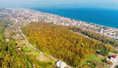 Samsun'da sonbahar güzelliği