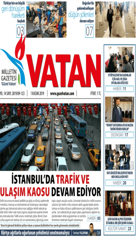Güzel Vatan Gazetesi Sayı:122