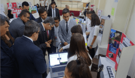 Şehit Eyüp Karataş Ortaokulunda TÜBİTAK Bilim Fuarı heyecanı