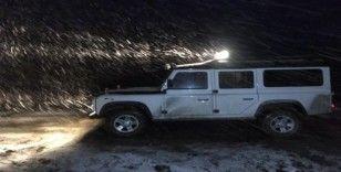 Tokat'a mevsimin ilk kar yağdı
