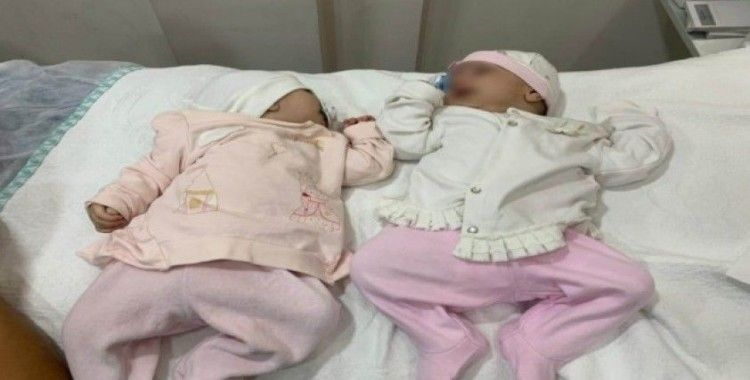 Konya'da bulunan 3 kardeş bebeğin sağlık durumu iyi